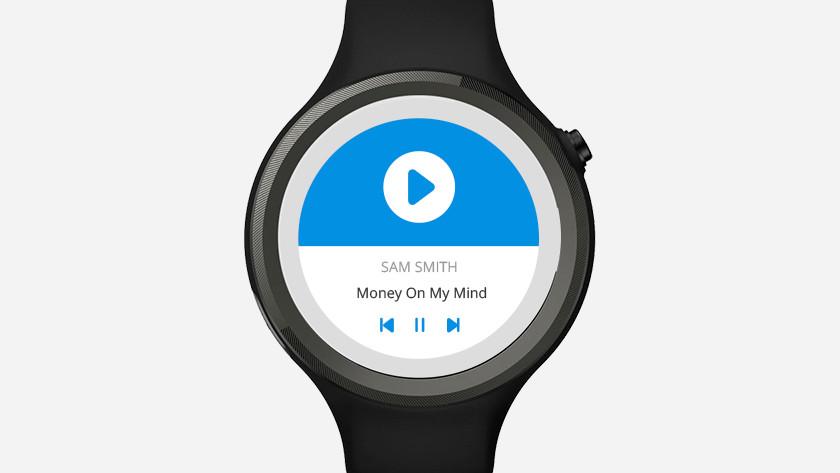 muziek smartwatch
