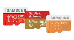 MicroSD kaarten