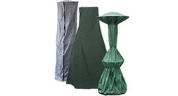 Patio heater covers