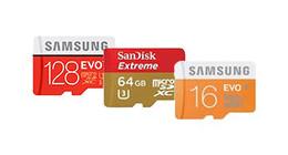 MicroSD kaarten voor drones