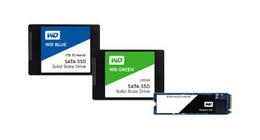 Western digital intern harde schijven SSD