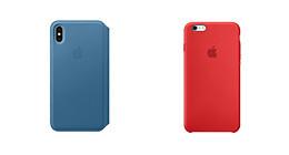 Coques officielles Apple pour iPhone