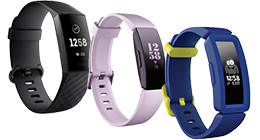 Alle Fitbit activity trackers