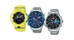 Casio smartwatches