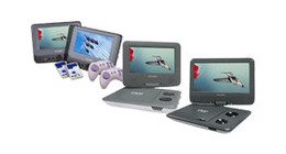 Salora portable DVD players