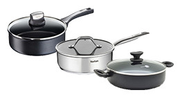 High-sided skillets