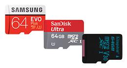 Micro SD kaarten