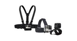 GoPro video camera mounts