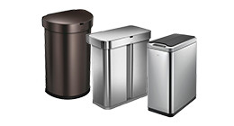 Sensor trash cans