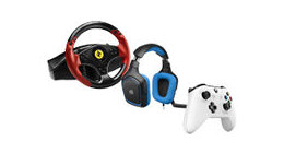 Game controllers & headsets