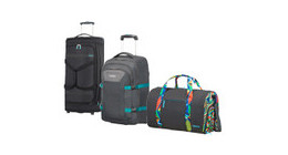 American Tourister travel bags