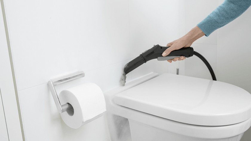 Sanitair stoomreiniger