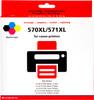 Pixeljet PGI-570/CLI-571 XL 5 Colors for Canon printers (0372C004)
