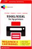 Pixeljet 934/935 4-Color XL for HP printers