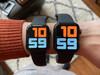 Apple Watch Series 5 40mm Space Gray Zwarte Sportband + Apple AirPods 2 (Afbeelding 1 van 5)