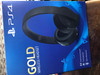 Sony Playstation Wireless Gold 7.1 Gaming Headset (Image 1 of 1)