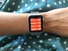 Apple Watch Series 3 Nike+ 38mm Space Grey Aluminium/Zwart (Afbeelding 3 van 5)