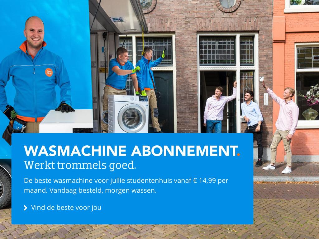 Wasmachine abonnementen
