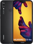 Huawei P20 Lite in noir
