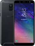 Samsung Galaxy A6 (2018) in noir