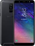 Samsung Galaxy A6 Plus (2018) in noir