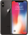 iPhone X in gris sidéral