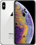 iPhone Xs in argent