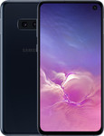 Samsung Galaxy S10e in zwart