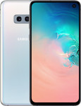 Samsung Galaxy S10e in wit