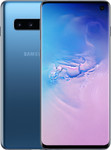 Samsung Galaxy S10 in blauw