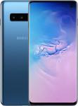 Samsung Galaxy S10 in blauw