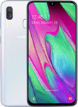 Samsung Galaxy A40 in wit