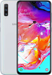Samsung Galaxy A70 in wit