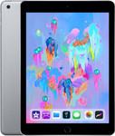 iPad (2018) in spacegrey (zwarte voorkant)