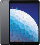 iPad Air 3 (2019) in spacegrey (zwarte voorkant)