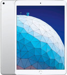 iPad Air 3 (2019) in zilver (witte voorkant)