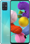 Samsung Galaxy A51 in blauw