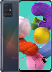 Samsung Galaxy A51 in zwart