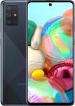Samsung Galaxy A71 in noir