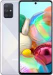 Samsung Galaxy A71 in argent