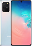 Samsung Galaxy S10 Lite in wit