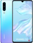 Huawei P30 in blanc/violet