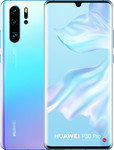 Huawei P30 Pro in wit/paars