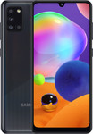 Samsung Galaxy A31 in zwart