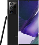 Samsung Galaxy Note 20 Ultra in noir