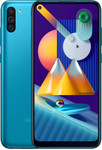 Samsung Galaxy M11 in blauw