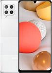 Samsung Galaxy A42 in wit