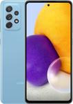 Samsung Galaxy A72 in blauw