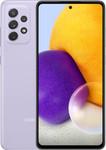 Samsung Galaxy A72 in paars