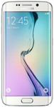 Samsung Galaxy S6 Edge in wit